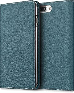 BONAVENTURA Diary Smartphone Case [Compatible with iPhone Xs Max, Cyan Blue] BODTXM-BC