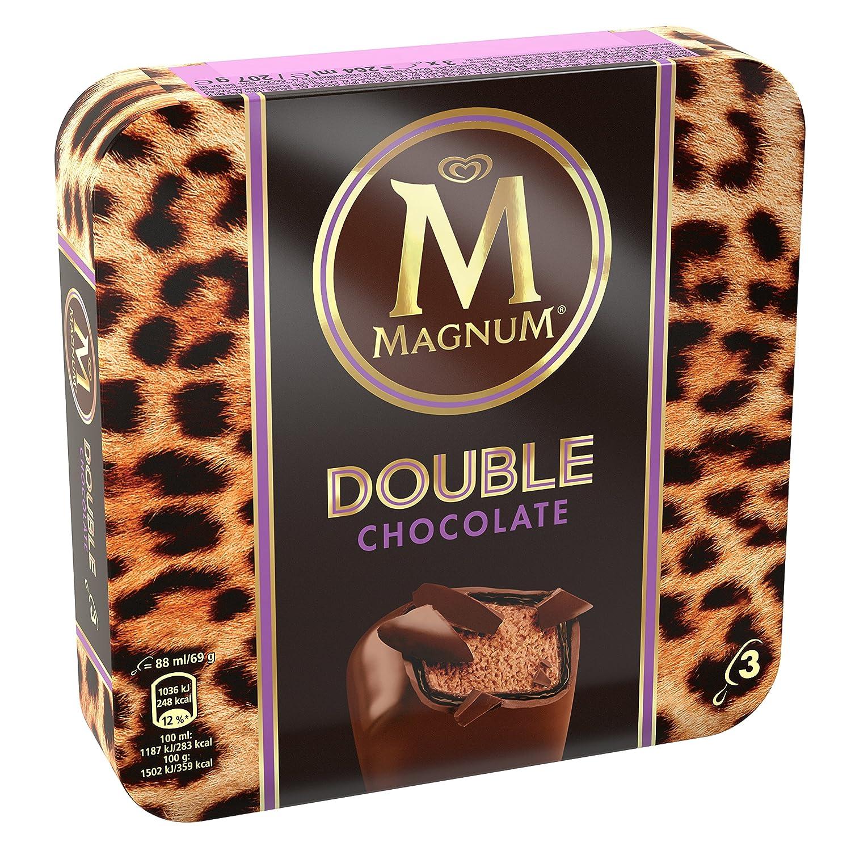 Magnum Double Chocolate - Paquete de 3 x 88 ml: Amazon.es: Alimentación y bebidas