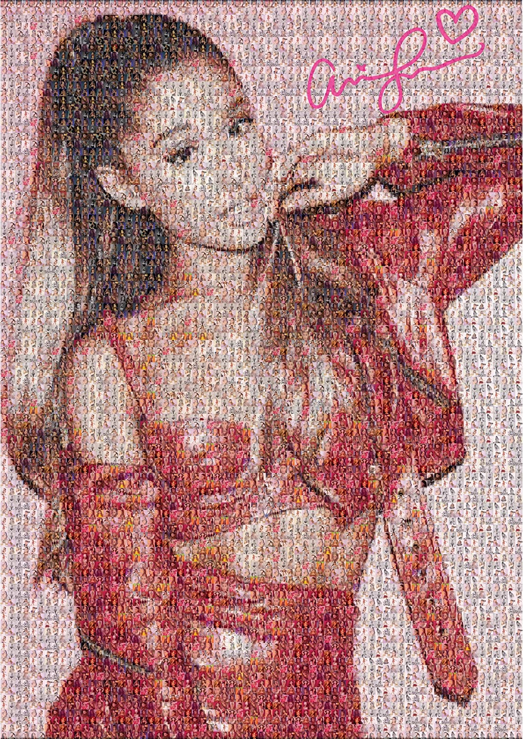 ARIANA GRANDE GLOSSY WALL ART POSTER A1 - A5 SIZES AVAILABLE