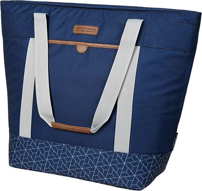 Arctic Zone Jumbo Hot/Cold Insulated Food Carrier, Navy