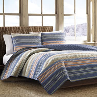 Eddie Bauer Cotton Quilt Set, King, Green