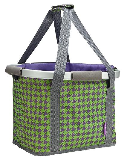 4f25ed69388 Amazon.com : Schwinn Collapsible Handlebar Basket, Purple : Sports ...