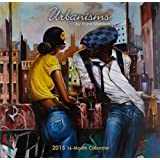 Shades of Color 12 by 12 Inches 2015-2016 Urbanisms African American 16 Month Calendar (15FM)