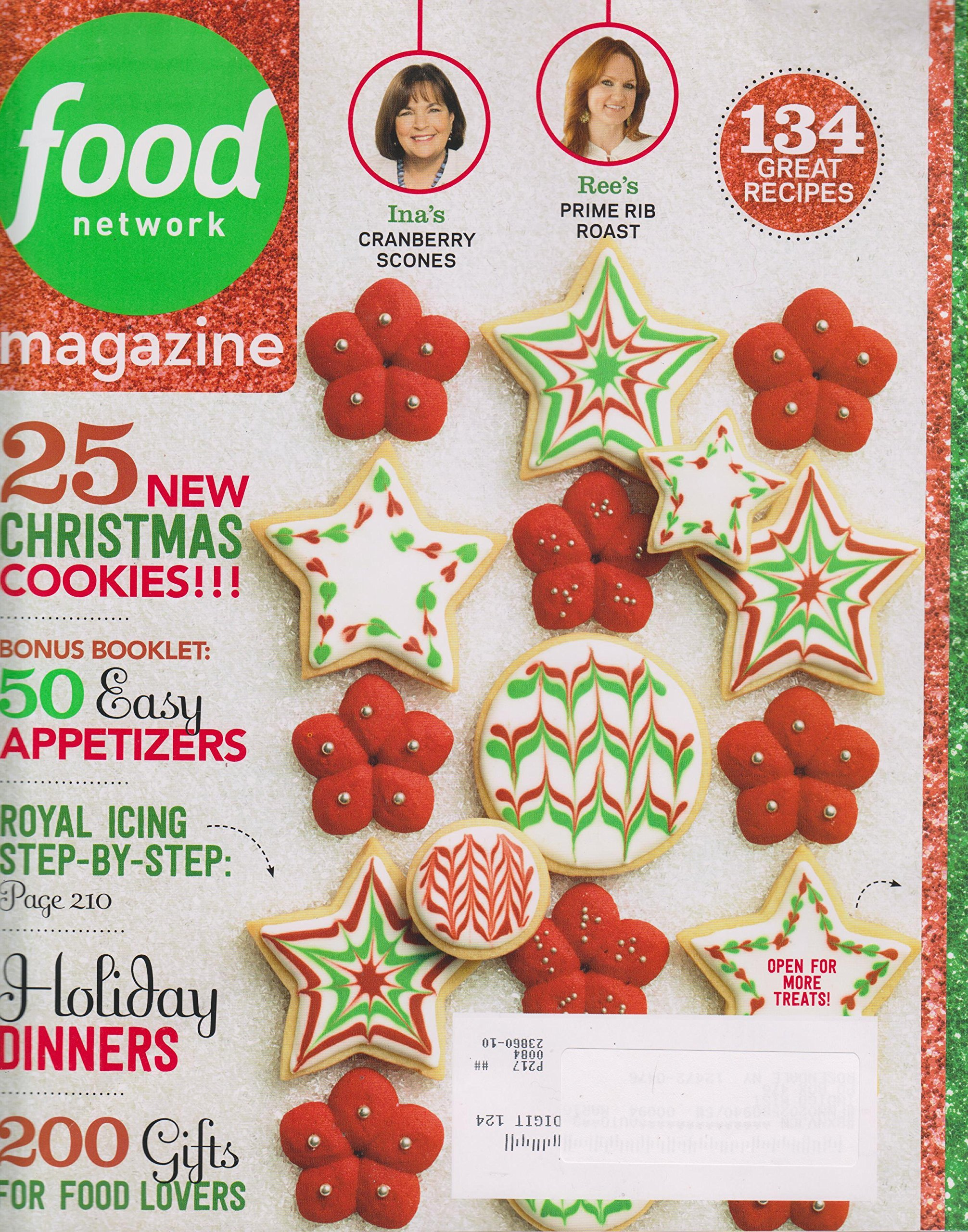 Food network magazine december 2014 25 christmas cookies food food network magazine december 2014 25 christmas cookies food network magazine amazon books forumfinder Image collections