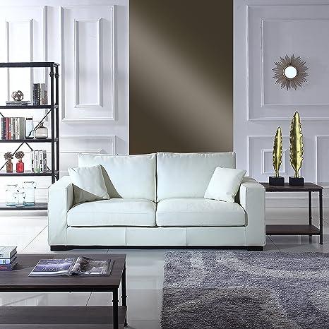 Superb Amazon Com Large Modern Deep Seat Living Room Sofa Wide Theyellowbook Wood Chair Design Ideas Theyellowbookinfo