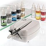 Airbrush Edible Cake Spray Paint Ink 12 x 4oz Bottle Set ...