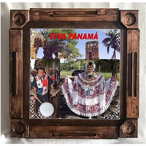Wooden/wood Dominoes/domino Table/mesa Custom Made Panama Solid