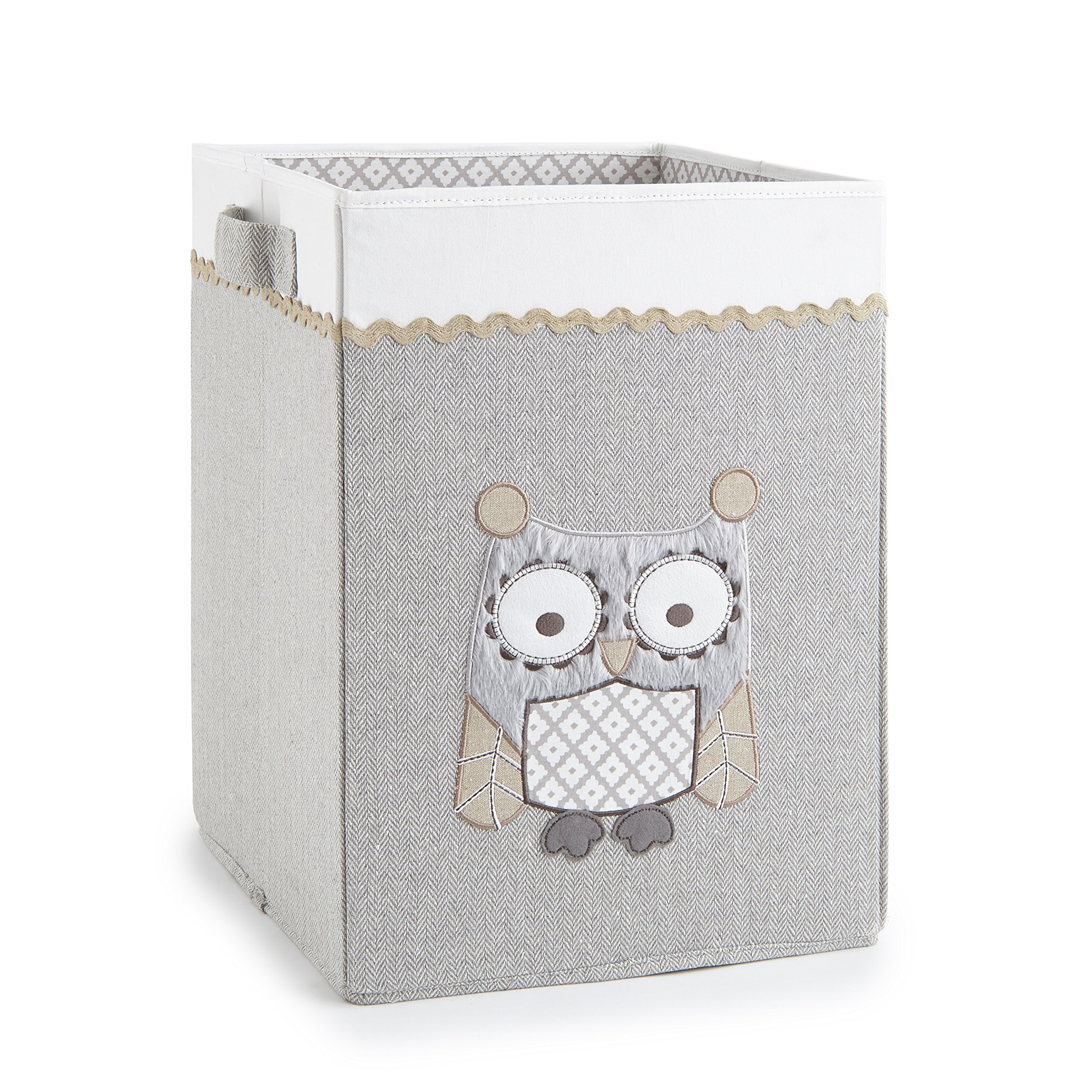 Levtex Home Baby Night Owl Hamper, Taupe
