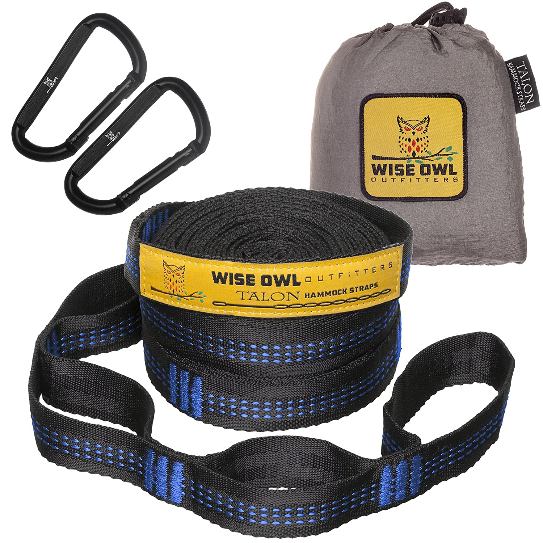 hammock straps by wise owl outfitters    bined 20 ft long 38 loops w  amazon best sellers  best hammock accessories  rh   amazon