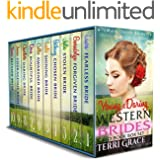 Young & Daring Western Brides 10 Book Box Set: Mail Order Bride Young Love Historical Romance