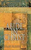 Abide in Christ: The Joy of Being in God's Presence