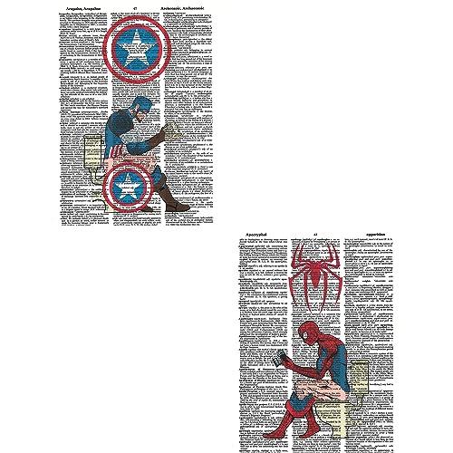 Superheroes Posters Amazon Com