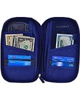 Hopsooken Travel Wallet & Passport Holder Organizer Rfid Blocking ID Card Pouch