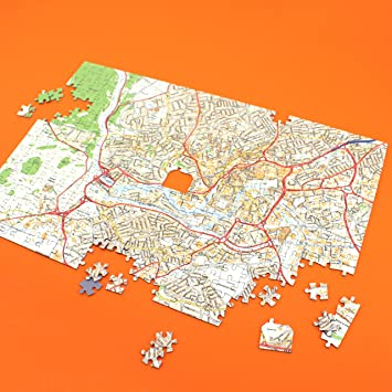 Personalised streetview map jigsaw puzzle 400 pieces gift personalised streetview map jigsaw puzzle 400 pieces gift gumiabroncs Image collections