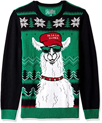 Llama Christmas Sweater.Ugly Christmas Sweater Company Men S Ugly Christmas Sweater Xmas Llama
