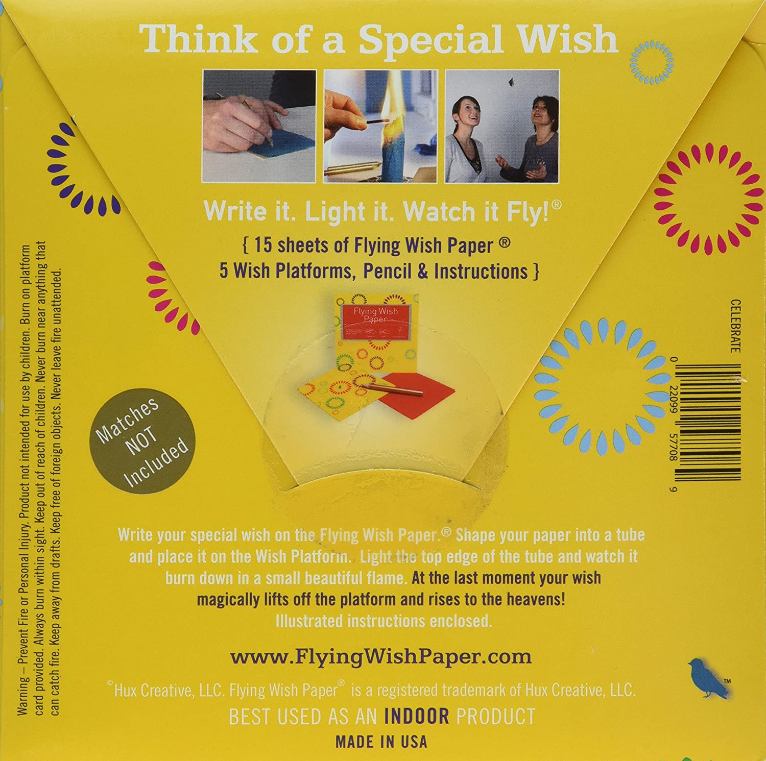 Amazon.com: Flying Wish Paper Celebrate, Small: Home & Kitchen