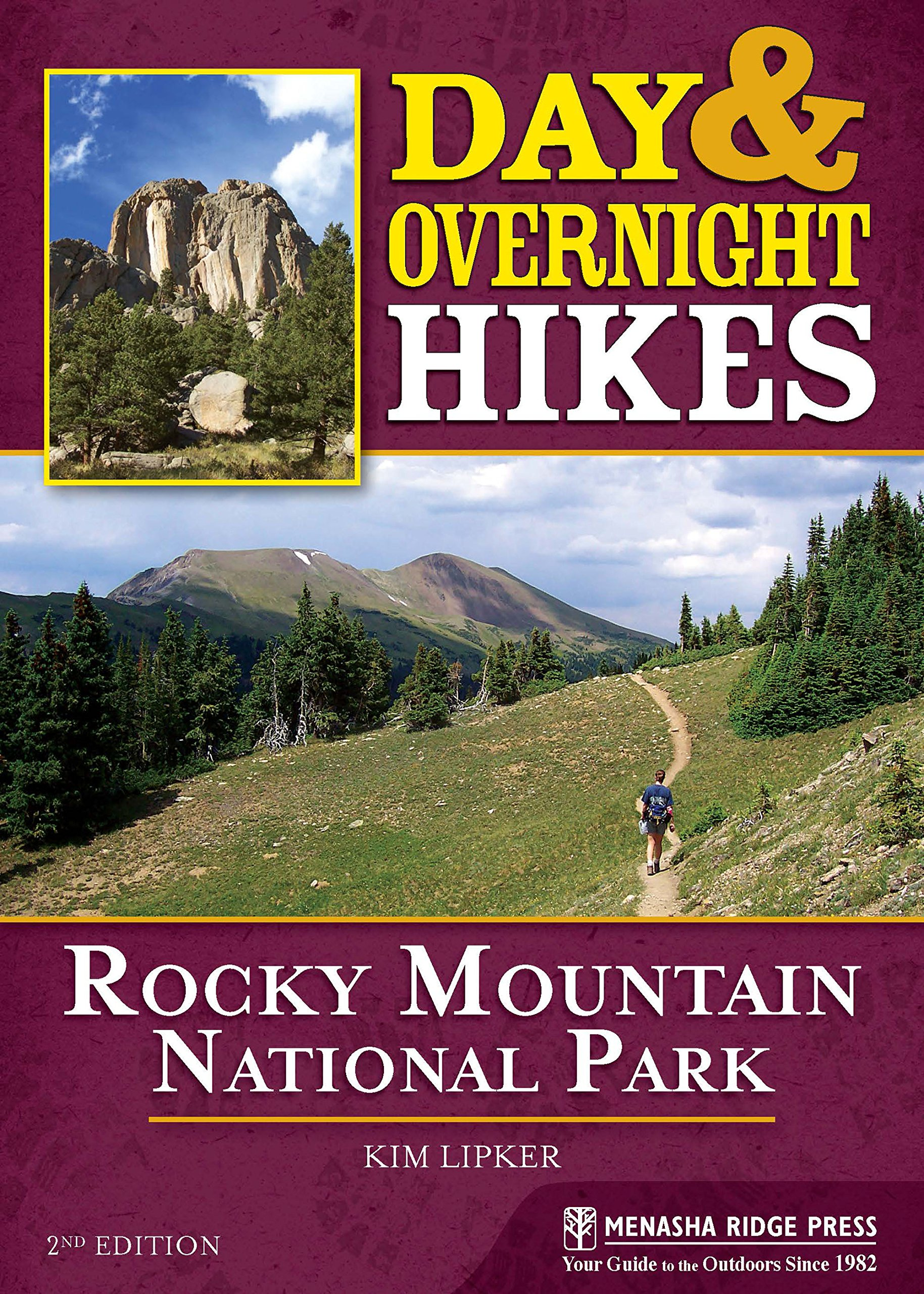 Download Day and Overnight Hikes: Rocky Mountain National Park ebook