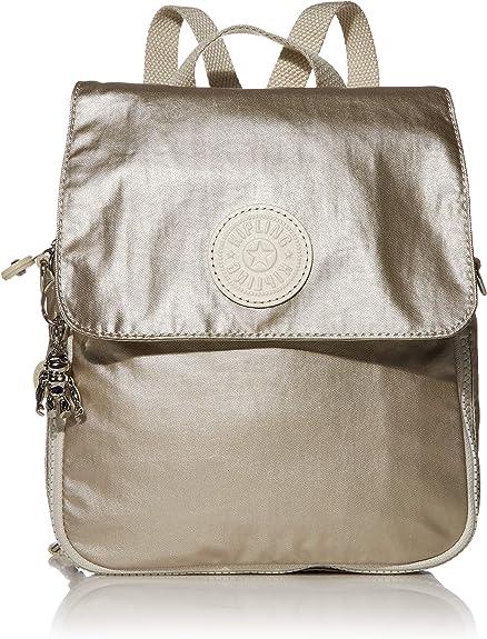Kipling Annic - Mochila pequeña, Plateado (Cloud Metal), Talla única: Amazon.es: Ropa y accesorios