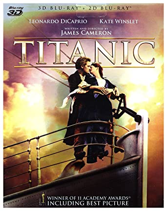 Titanic 2Blu-Ray + Blu-Ray 3D Region Free IMPORT No hay versión ...
