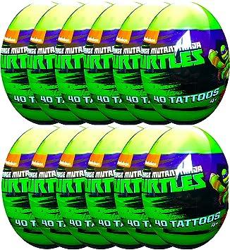 Amazon.com: teenage mutant ninja turtles huevos con 40 ...