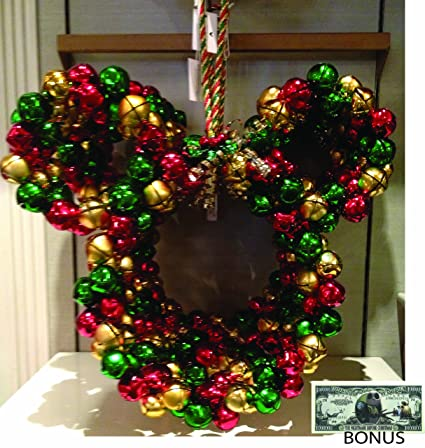 disney parks mickey mouse christmas wreath comes sealed disney parks exclusive limited