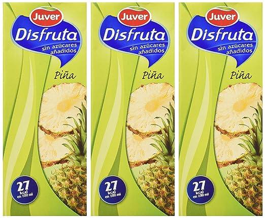 Juver refresco De Zumo De Piña - Pack de 3 x 20 cl - Total: 600 ml: Amazon.es: Amazon Pantry