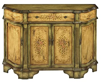 Stein World Furniture Dover Credenza, Antique Green, Brown