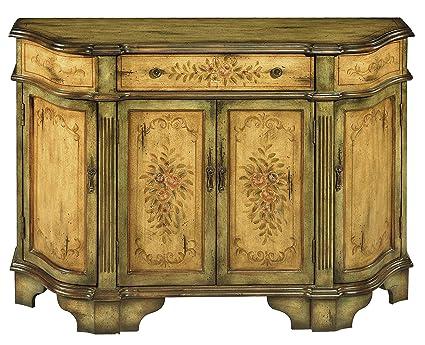 Stein World Furniture Dover Credenza, Antique Green, Brown - Amazon.com - Stein World Furniture Dover Credenza, Antique Green