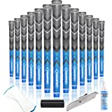 Champkey Victor Hybrid Golf Grips Set of 13 - Choose Between 13 Grips with 15 Tapes and 13 Grips with All Repair Kits