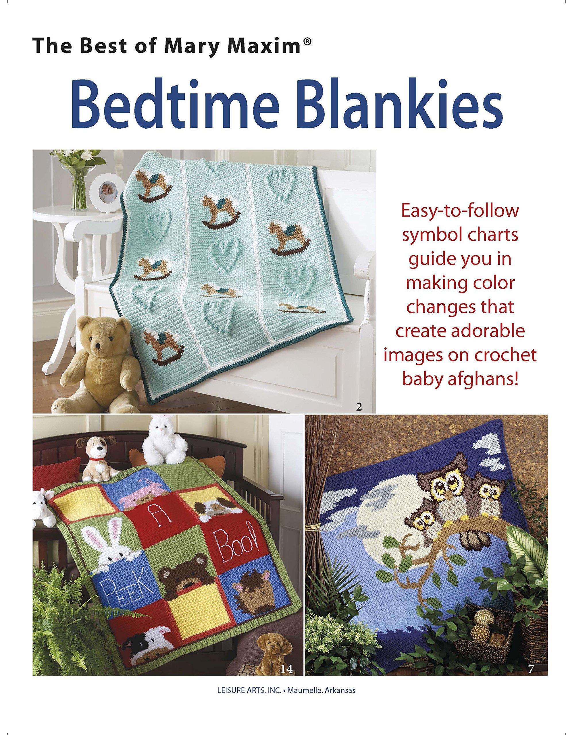 Bedtime Blankies: The Best of Mary Maxim (Crochet): Mary Maxim