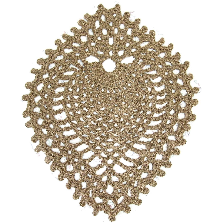 Jute Area Rug - Pineapple - Hand Crochet - 39
