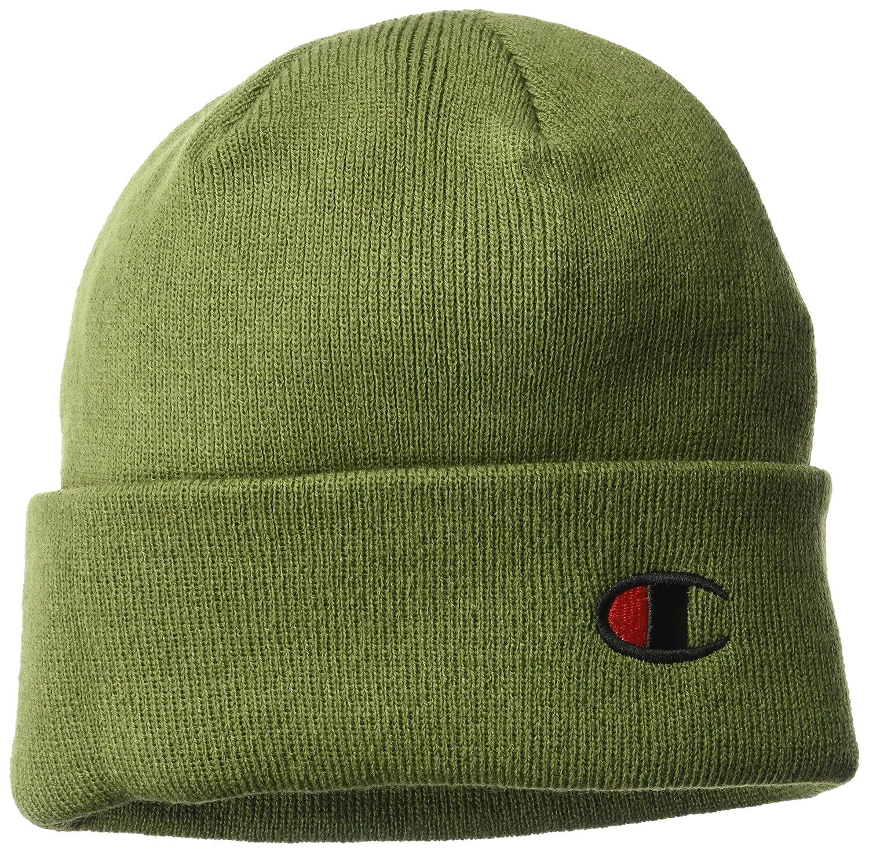 c97d70b4db1 Champion LIFE Mens Beanie Beanie Beanie Hat - Green -  Amazon.co.uk   Clothing