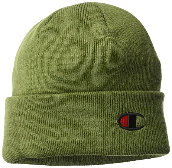 5b123a9a4fe Champion LIFE Mens Beanie Beanie Beanie Hat - Green -  Amazon.co.uk   Clothing