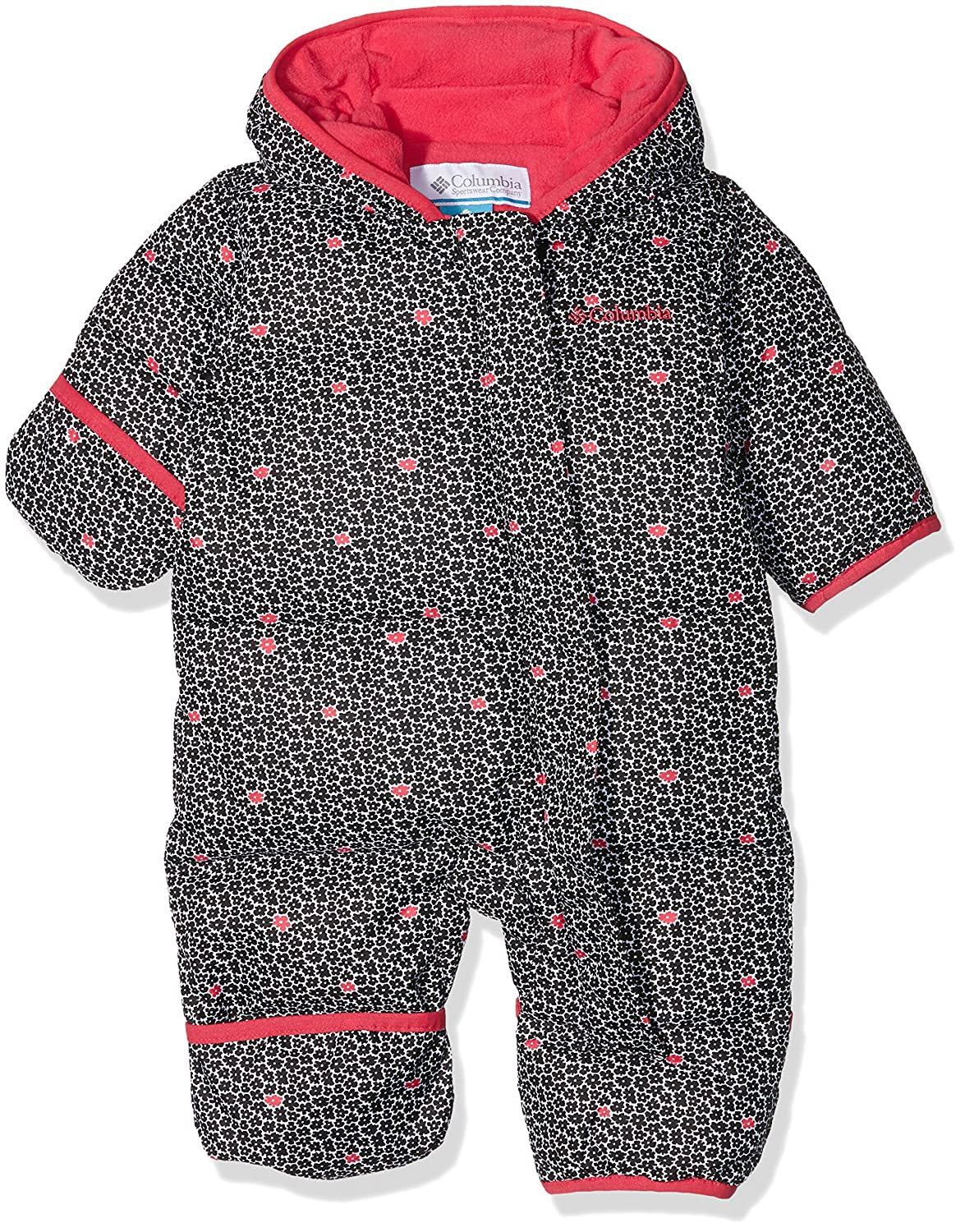 ee991a76227f Columbia Kid s Snuggly Bunny Suit - Black Floral