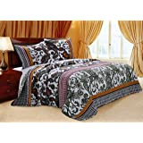 Greenland Home Fashions Orleans Quilt Set