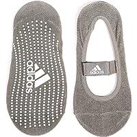 Adidas Calcetines para Yoga, color gris, talla mediano/grande