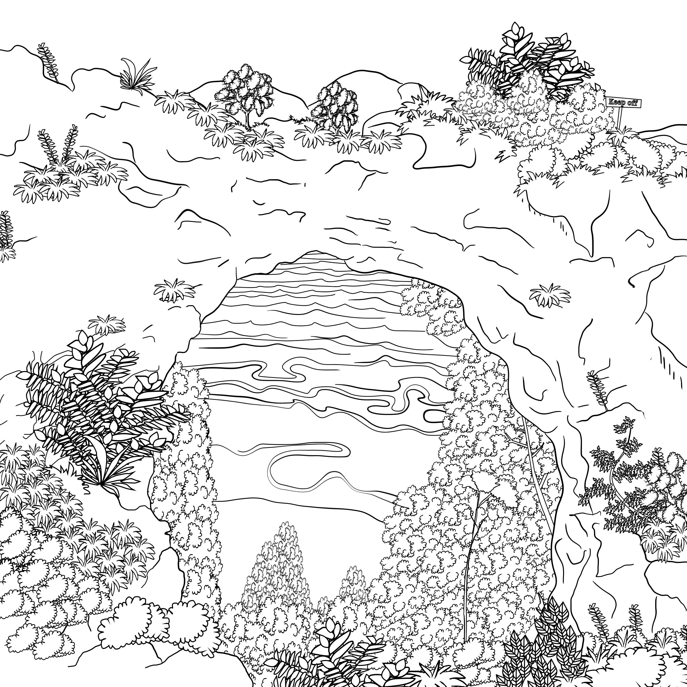 The enchanted forest colouring book nz - Grown Ups Colouring Book Illuminations The Mackinac Island Coloring Book For Grown Ups Kristen M