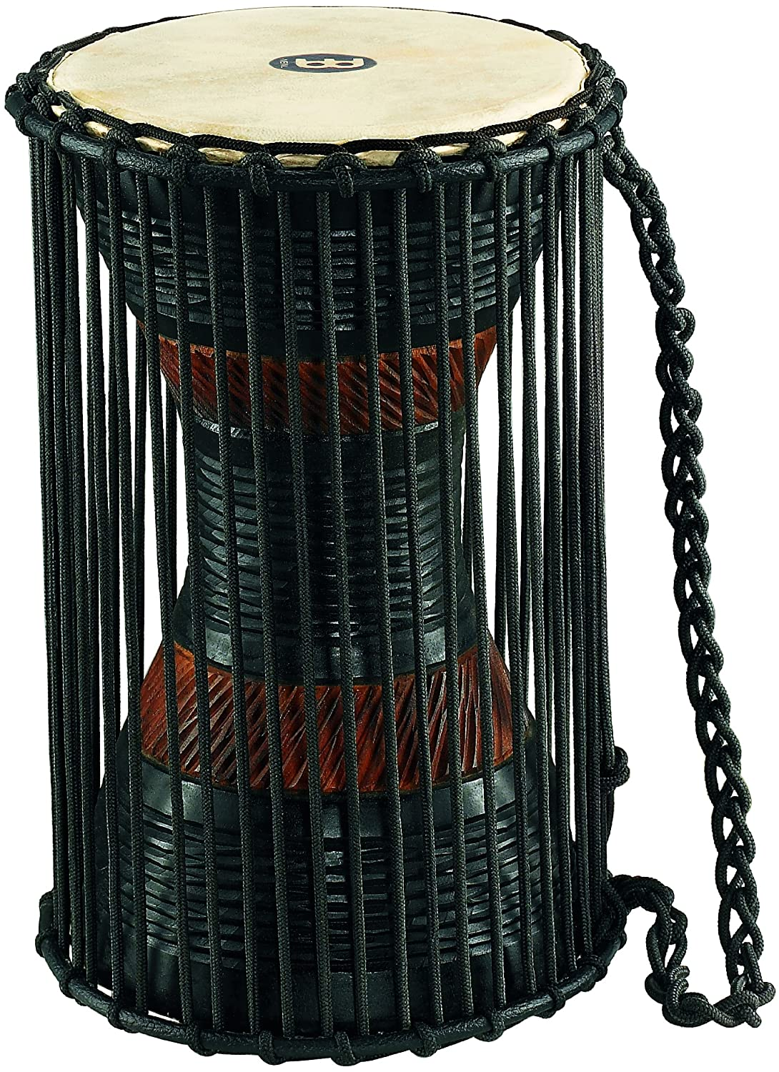 Meinl Percussion ATD-L Wood African Talking Drum, Large