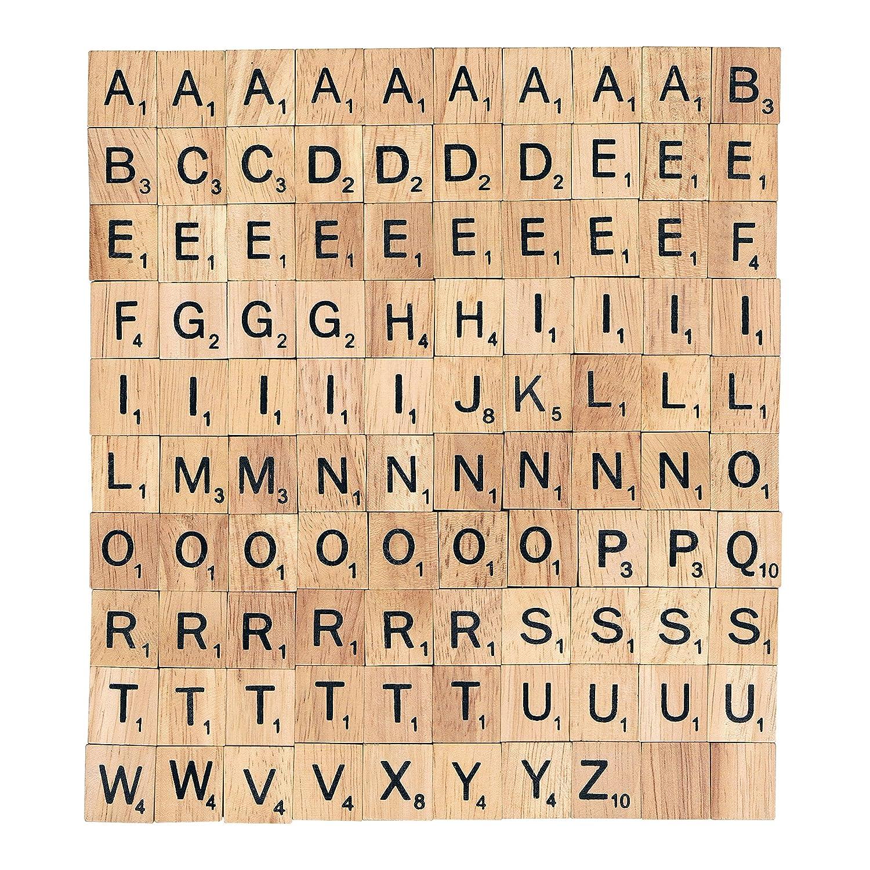 Choisissez votre lettres de Scrabble en X 100Craft, Word Art Bijoux... gratuite au Royaume-Uni