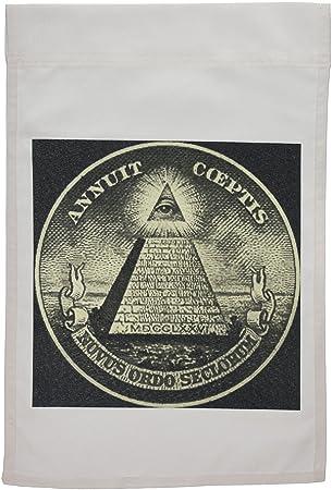 Amazoncom 3dRose fl1497681 Illuminati American Money America