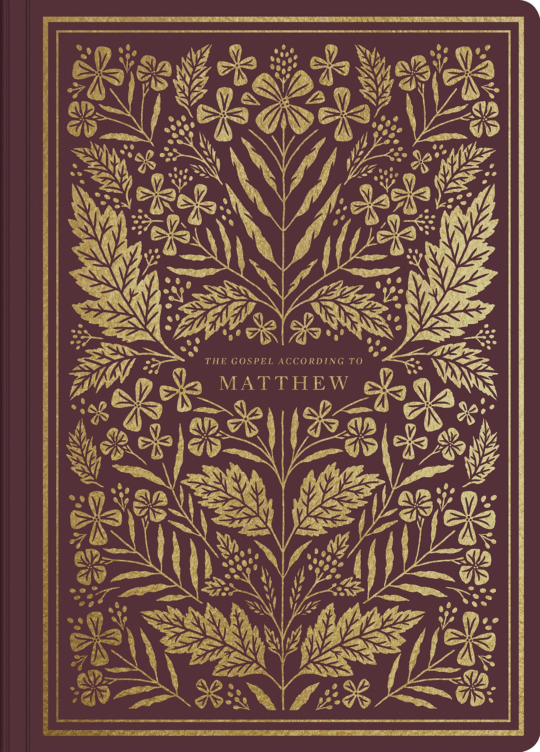 ESV Illuminated Scripture Journal: Matthew: ESV Bibles by
