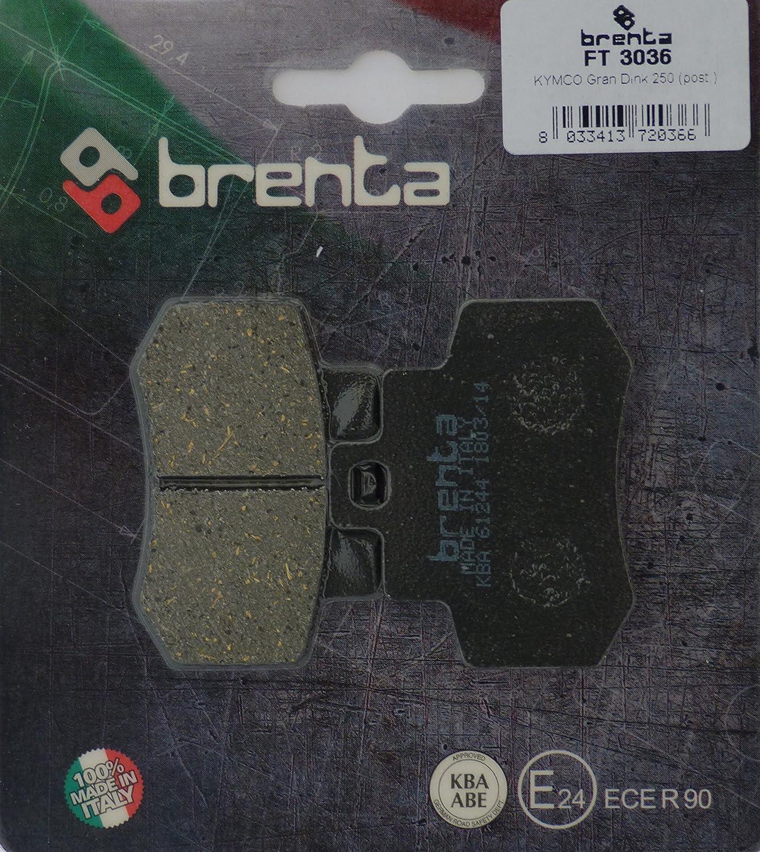 Brenta Pastiglie Freno Organiche Moto per Kymco Gran Dink 250