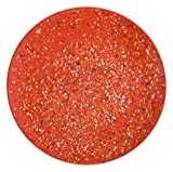 Zak Designs 0078-0316-ISET Confetti Salad Plates Dinner Set, Red