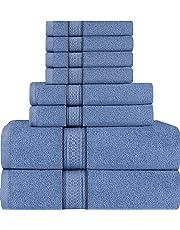 Utopia Towels Premium 8 Piece Towel Set