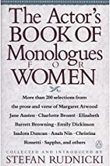 The Actor's Book of Monologues for Women Paperback