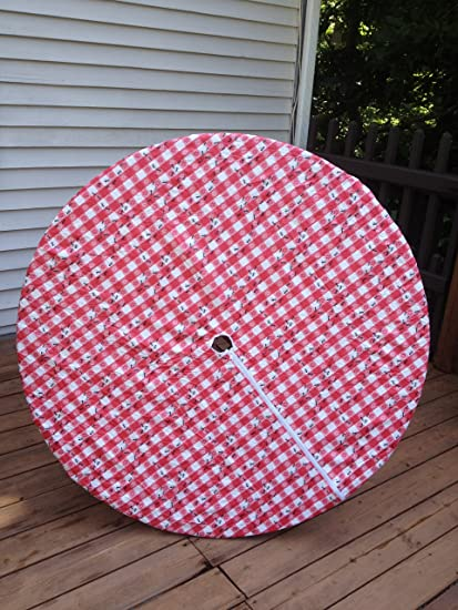 Round Umbrella Tablecloth With Zipper Gallery Of Seashell