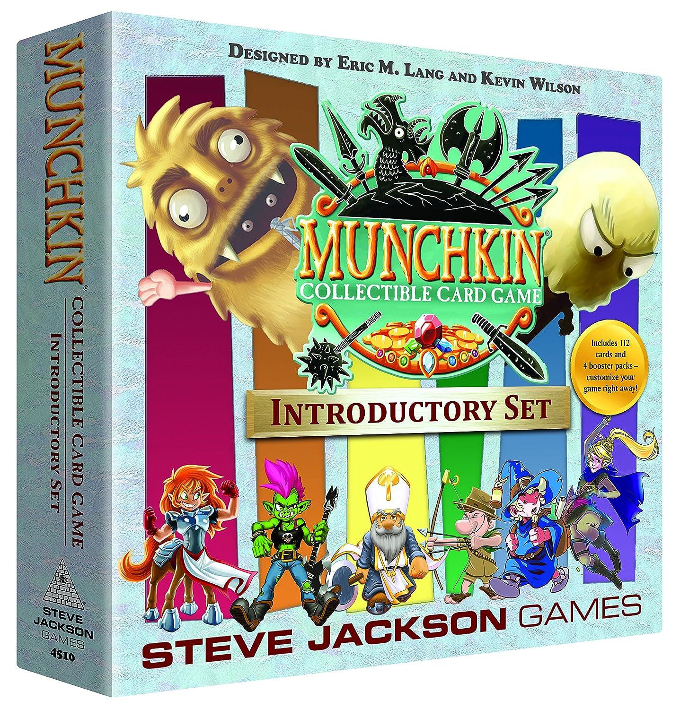 Steve Jackson Games SJG04510 Munchkin CCG Introductory Set, Multi-Colour Pegasus Spiele