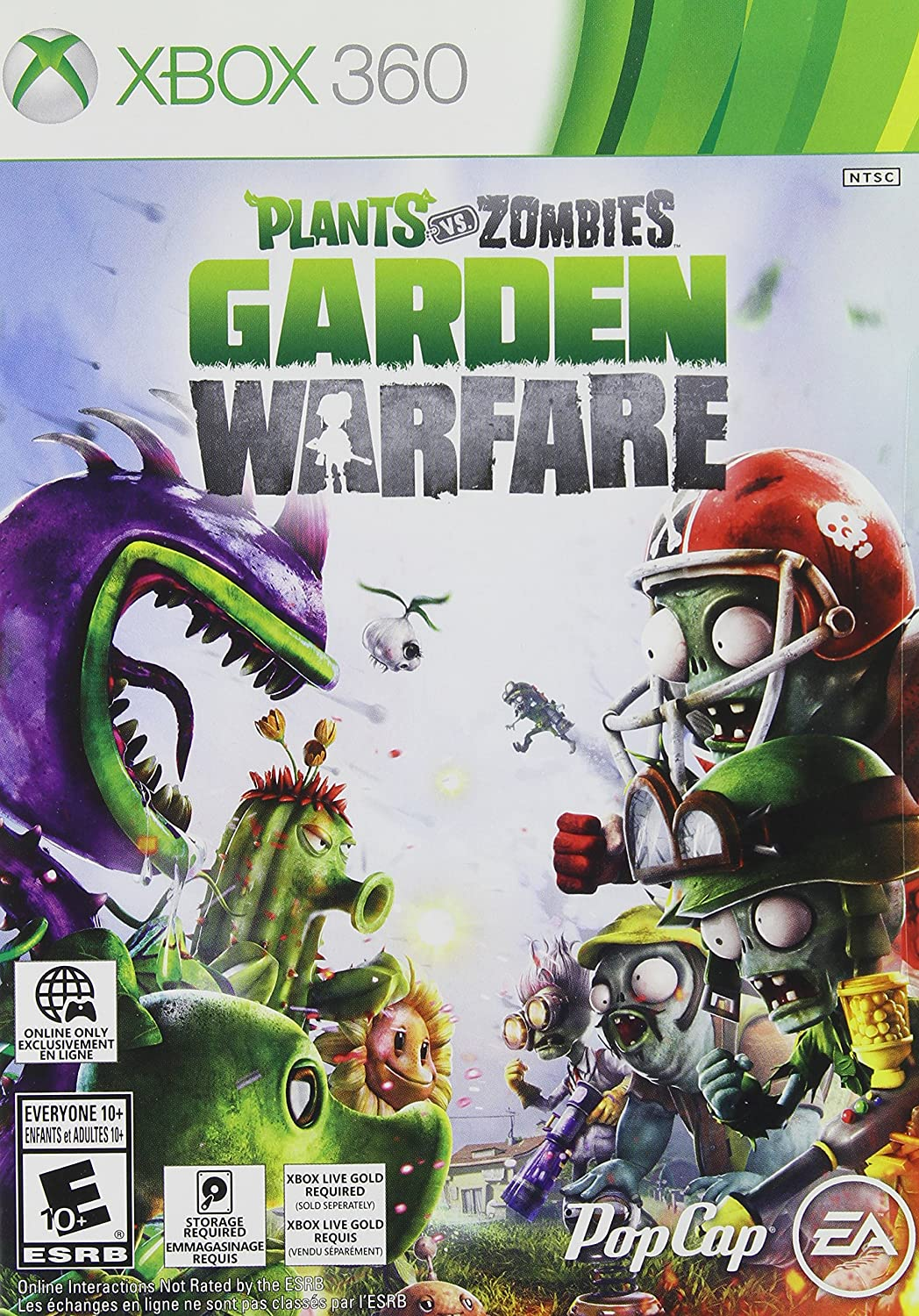 Plants vs Zombies - Garden Warfare - Xbox 360 - NEW SEALED