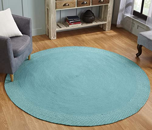 Better Trends Indoor Outdoor Braid Collection is Durable and Stain Resistant Reversible All Weather Utility Rug 100 Polypropylene