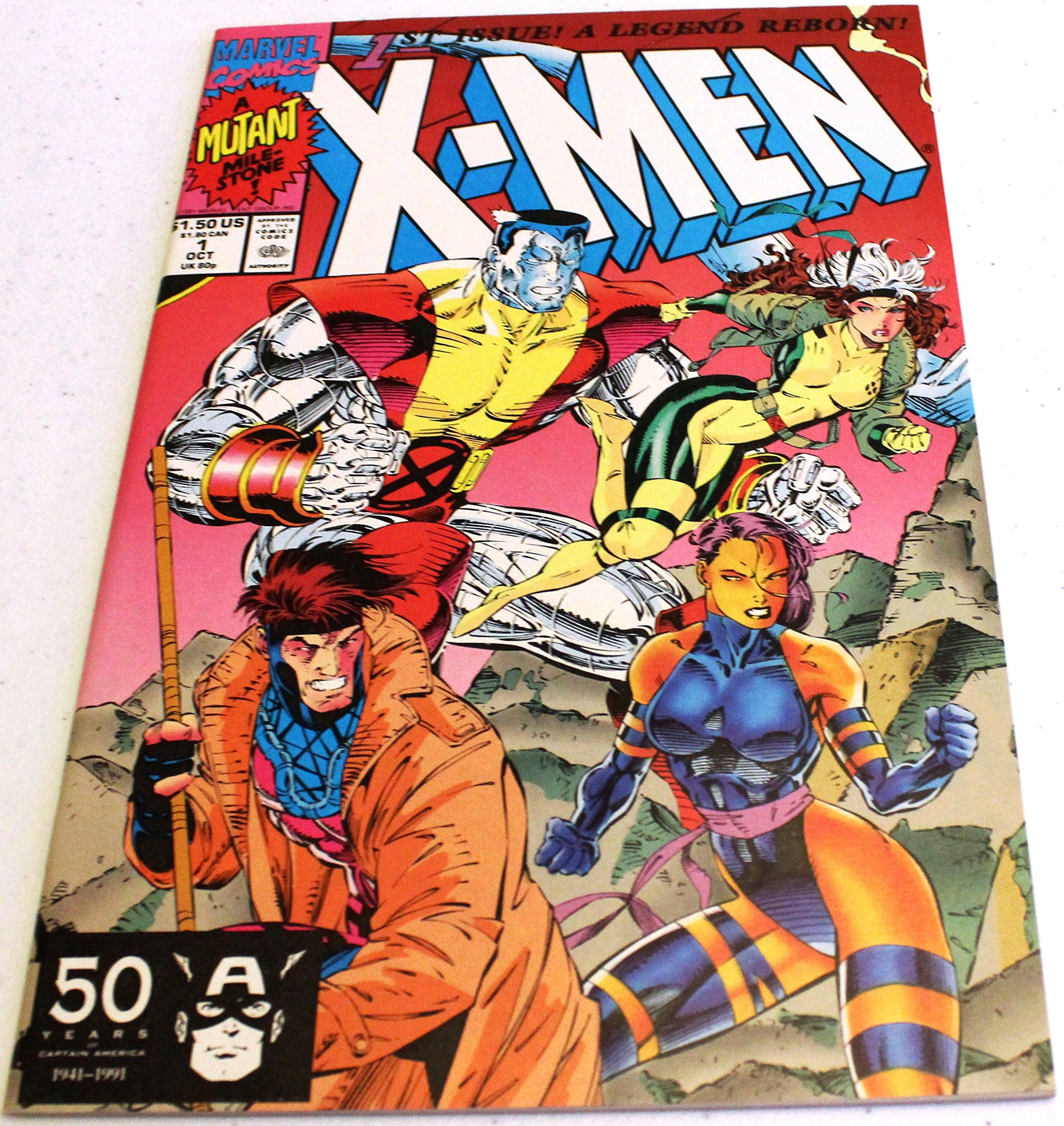 X Men Marvel Comics 1 Oct 1991 1st Issue Legend Reborn Amazon Com Books